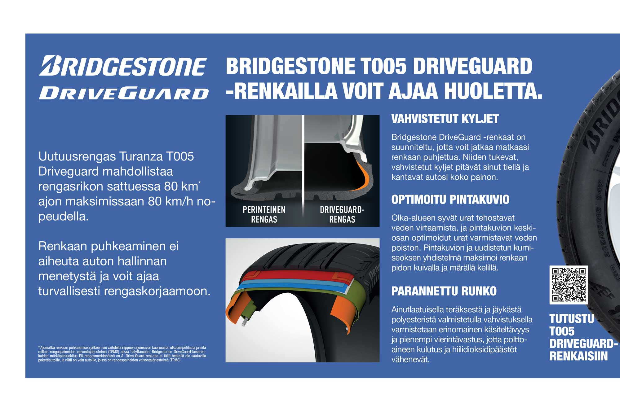 Bridgestone DriveGuard First Stop Tampere
