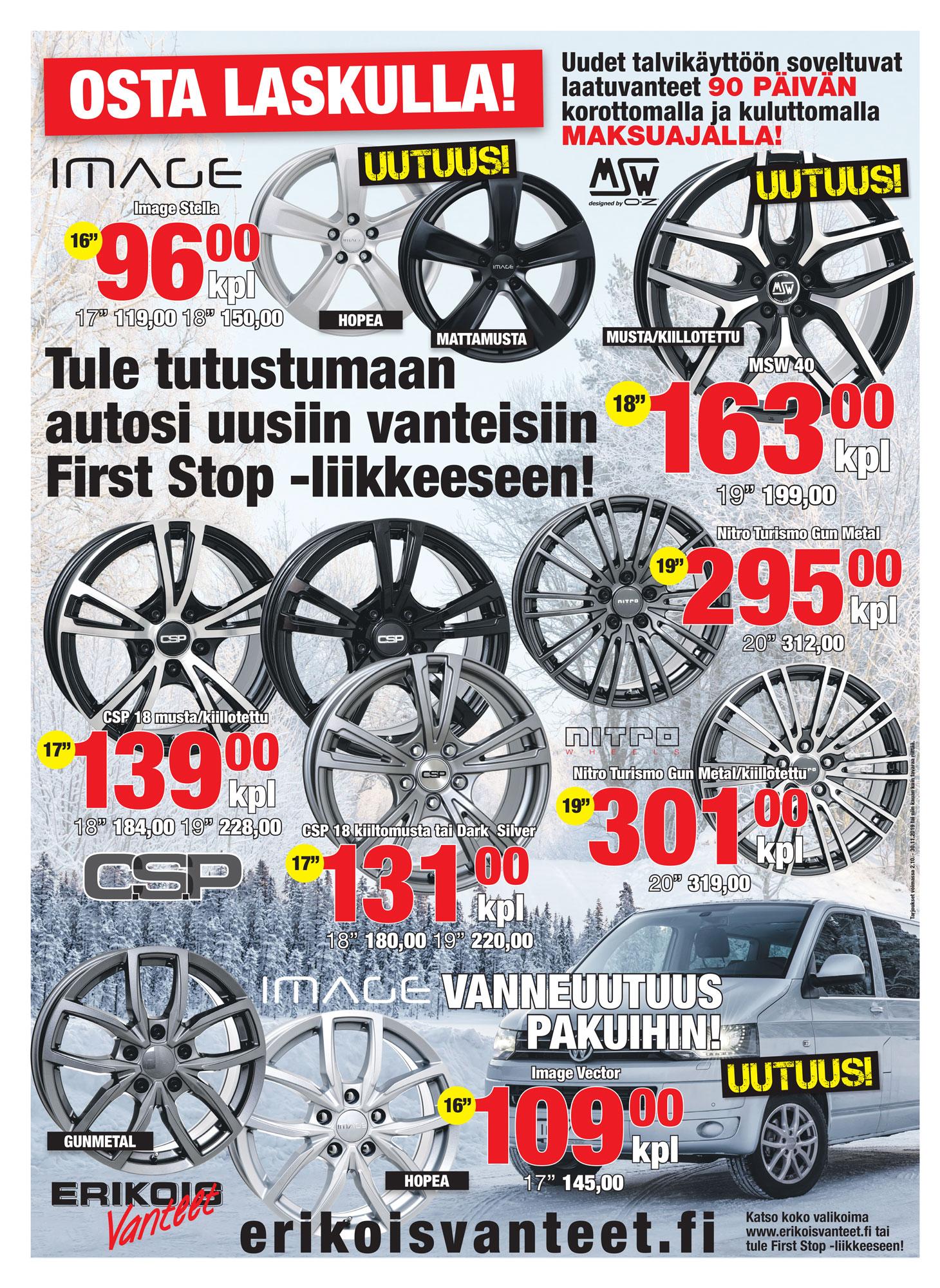 Talvivannetarjoukset Tampere